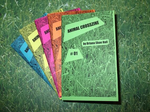 Animal Crosszine No. 1 - Handdrawn Animal Crossing Fan Zine