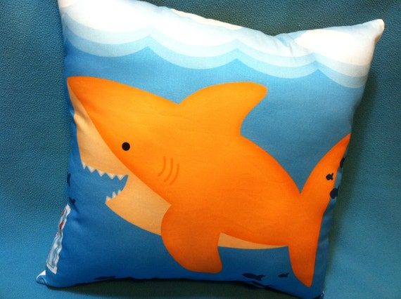 Reversible Shark Pillow -Currently 15% Off-