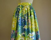 Women's skirt Monets Garden Size Large 16 plus READY TO SHIP