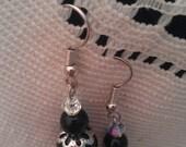 black glass pearls