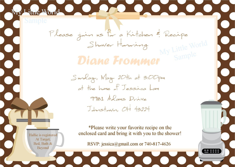 Free Wedding Shower Invitations: Bridal Shower Invitation 5x7 DIY PRINTABLE