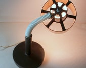 DORM ROOM DECOR // Big Modern Vintage 1970s Desk Lamp // Retro Future // Space Age Seventies // Office Lighting