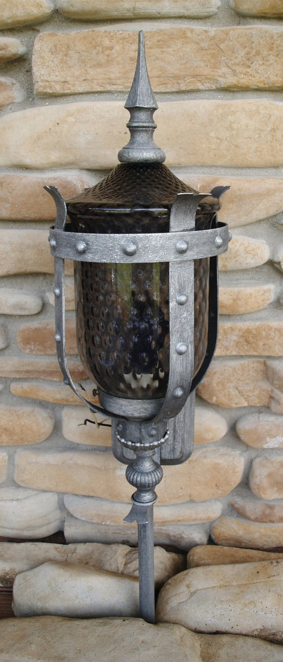 Vintage Architectural Salvage Outdoor Light By