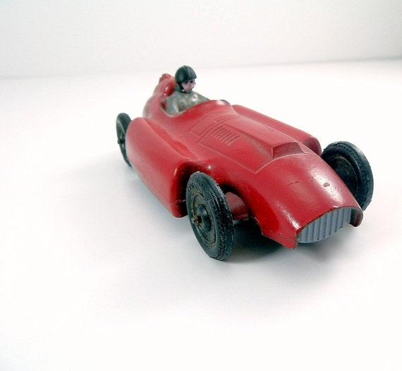 Vintage Toy Car Tootsie Toy Ferrari Lancia By
