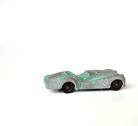 Vintage Triumph Convertible TR 3 Tootsie Toy By