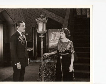 Rare Vintage Lobby Card Silent Film Photo With Actress Anita Stewart