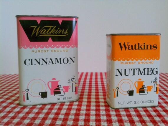 Watkins Cinnamon Spice Tin