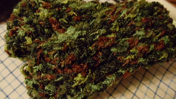 """Green Camo Knitted Scarf 60"""""""