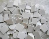 Broken China MOSAIC Tiles - White Filler Tiles- 200 Tiles