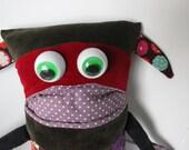 Stuffed Monster Toy: Monster Magoo Twix