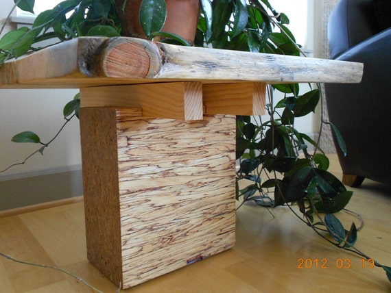 Salvaged Pine Top & Beam End  TABLE SERIES -