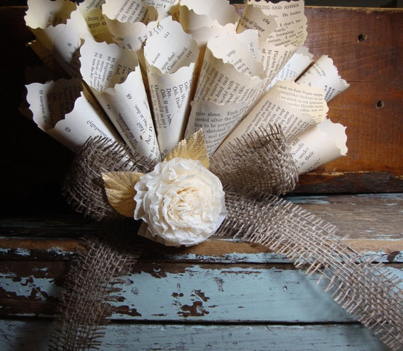 Vintage Cone Wreath Trimmed with Shimmering Gold Millinery Leaves