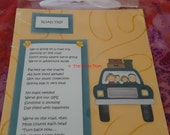 """Family Travel Poem - Road Trip - Frame with Magnet by """"The Perky Poet"""""""