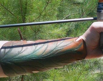 Oak Leaf Archer's Armguard