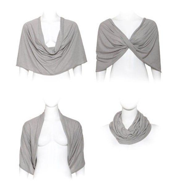 Light grey shawl (4 options shawl)