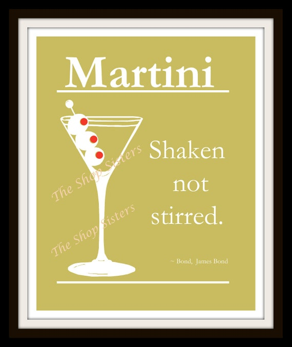james bond martini quote
