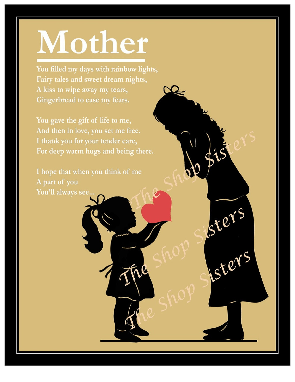Top Ten Quotes Mom Poems Daughter