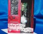 Romantic Paris Card