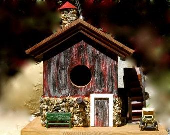 My Waterwheel Birdhouse