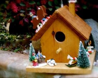 Forever Christmas Birdhouse