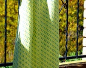Yellow and blue floral print Regency Dress - Plus Size