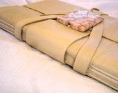Cream Leather Journal-Handmade