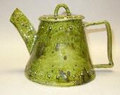 Dimpled Decorative Ceramic Teapot (#653)