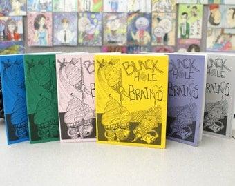 BLACK HOLE BRAINS issue 4 comic/perzine