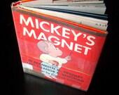 Vintage Crockett Johnson Children's Book - Mickey's Magnet - 1960s