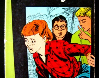 Vintage Children's Book - The Ghostly Trio - 1957