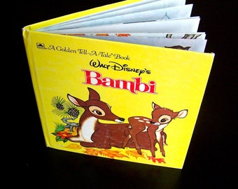 Children's Book - Bambi - 1972