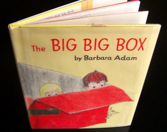 Vintage Children's Book - The Big Big Box - 1960