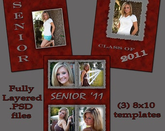 Items similar to puppy paws template set 3 custom for Senior photo collage templates