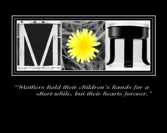 Items similar to mothers day gift customized art mom woman for Personalised word art template