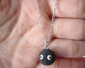 Totoro Soot Ball Charm Necklace