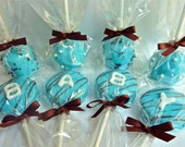 Baby Boy Bonanza... one dozen baby shower goodies (comes in brown and pink for baby girl, as well as baby neutral colors)