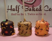 Fall Wedding Favors - Marshmallow Pops, HALF the price and calories of Cake Pops