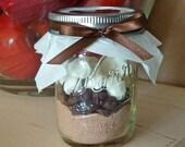 1 Dozen Hot Cocoa in a Jar - Edible Fall Wedding Favor