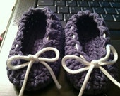 Reserved for VP - Purple Ballet Slippers