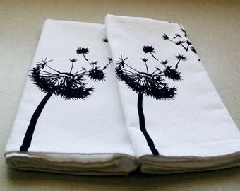 Dandelion Seeds Set of 2 Cotton Napkins