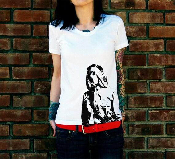 Gas Mask Soldier Women's T-Shirt