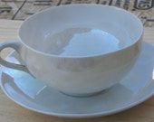Elagent Japan Rainbow Lusterware Bone China Cup/Saucer ON SALE