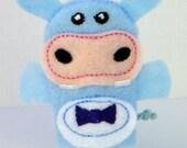 Mr. Hippo Finger Puppet