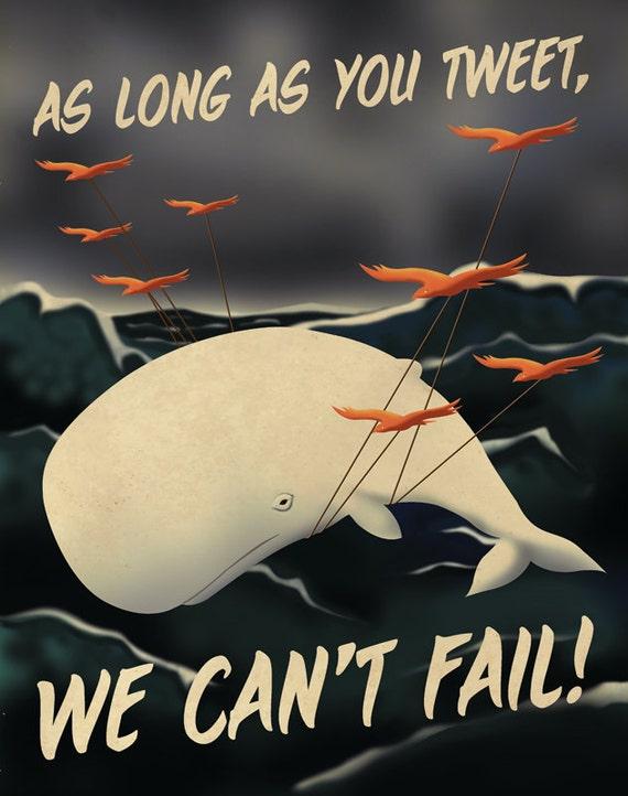 Twitter Propaganda Poster version 2
