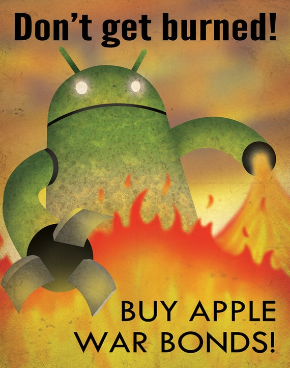 Apple Propaganda Poster