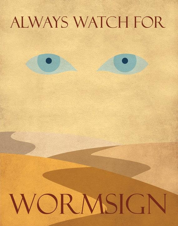 Wormsign Propaganda Poster