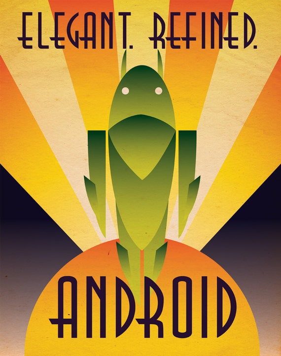 Deco Android Poster