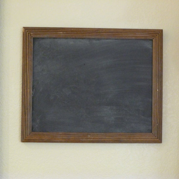 upcycled wood picture frame chalkboard by chalkboardchicks