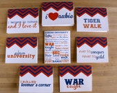 auburn university au college note cards or thank you cards