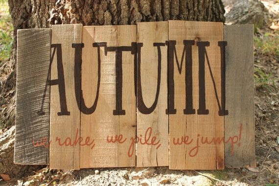 Autumn Fun Thumbprint (ready to ship)